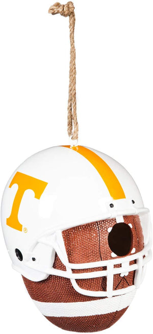 University of Tennessee Team Helmet and Ball Hanging Birdhouse