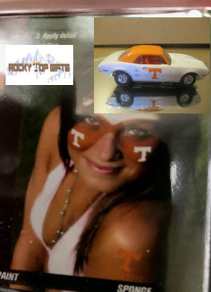 Tennessee Vols Stencil and Face Paint Kit