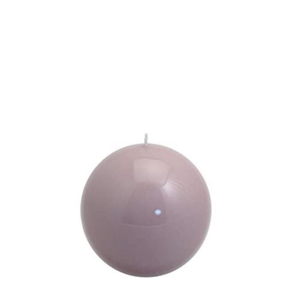 Sphere Candle, Dove