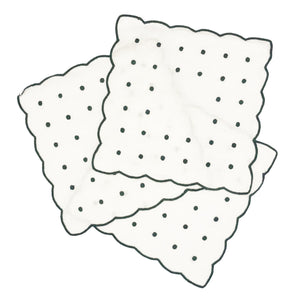 Dot Cocktail Napkins, Green