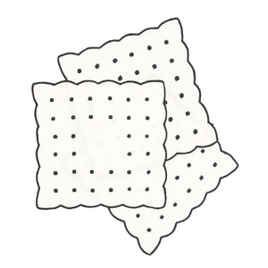 Dot Cocktail Napkins, Black