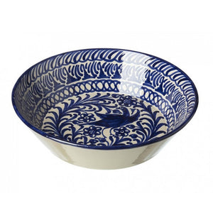 Bird Ceramic Bowl, Blue