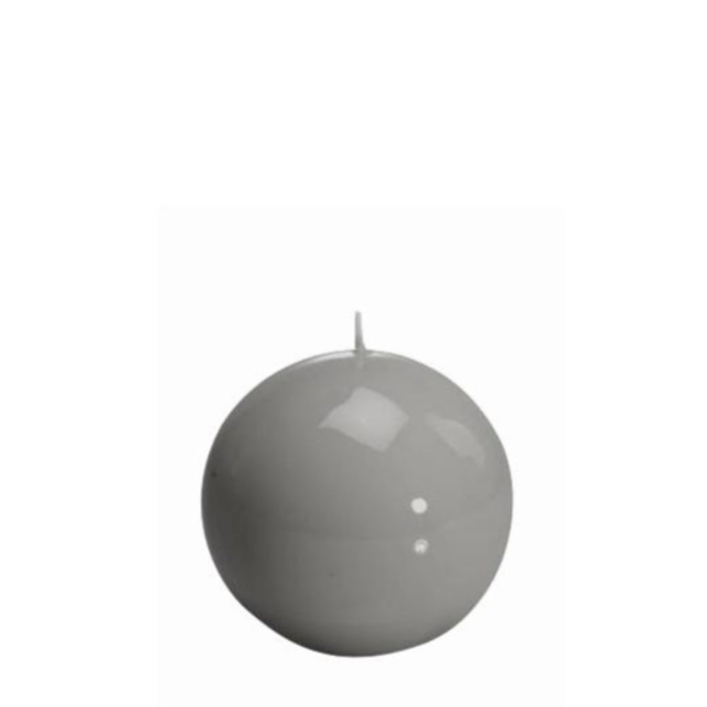 Sphere Candle, Grey