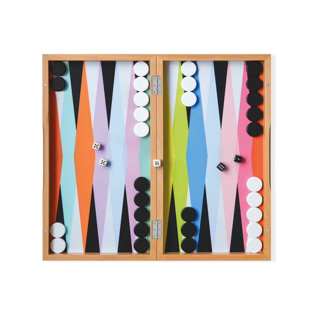 Colorplay Backgammon Set