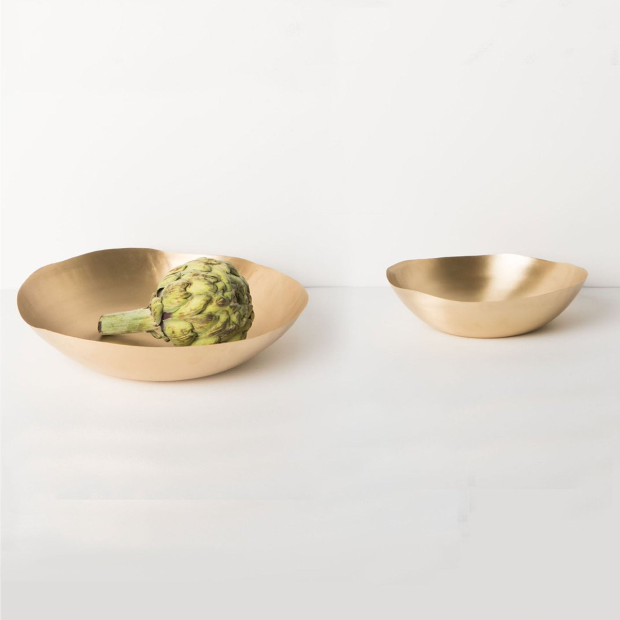 Featherweight Brass Bowl Set