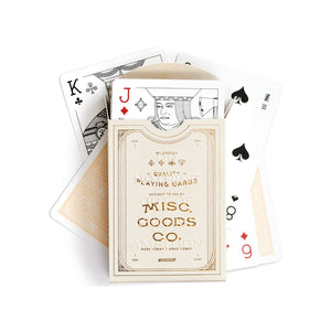 Ivory Playing Cards