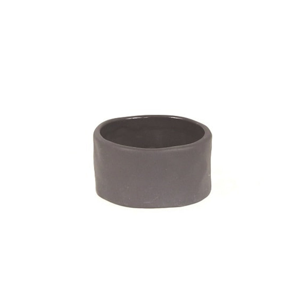 Ceramic Napkin Ring, Slate