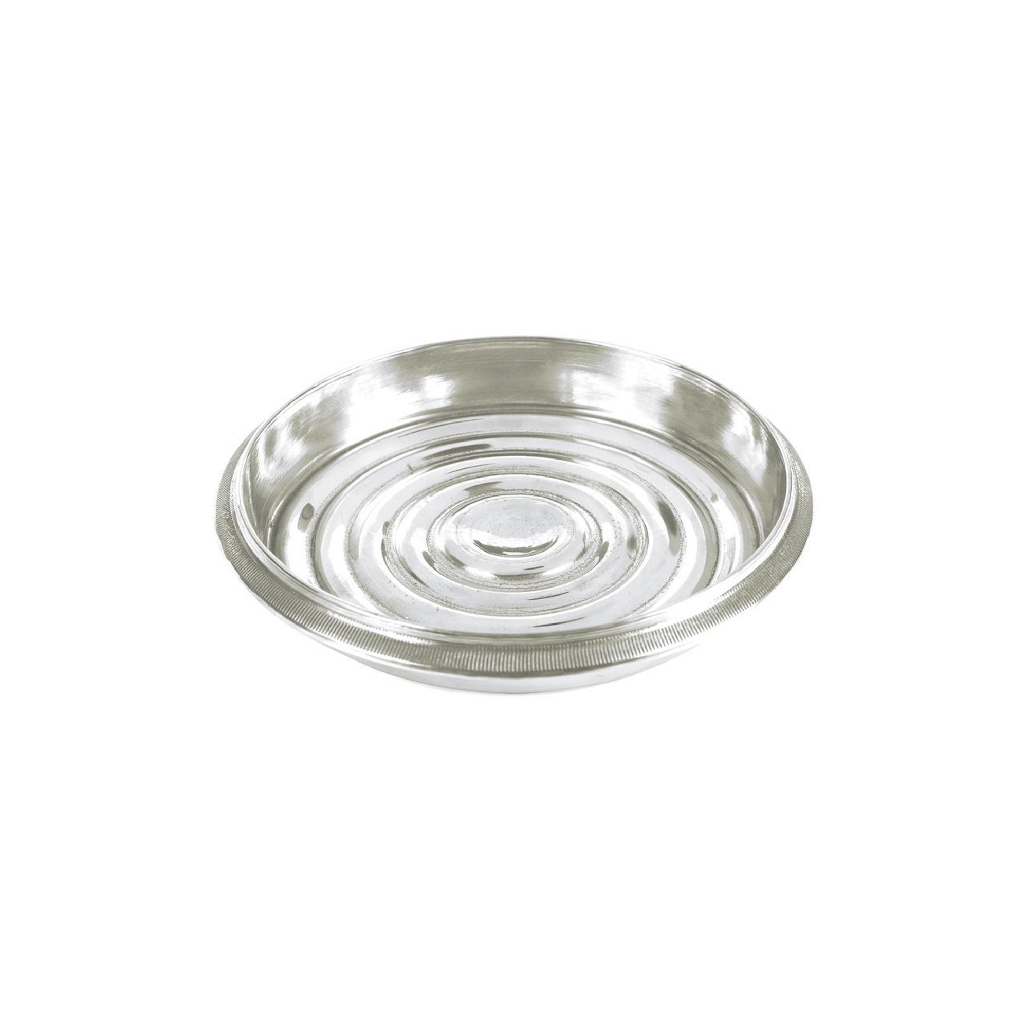 Coin-Edged Bottle Coaster, Nickel
