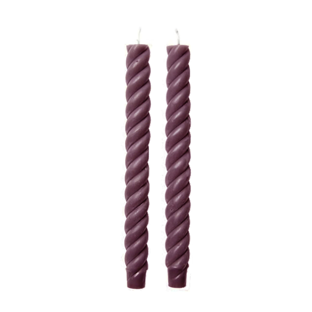 Rope Taper Candles, Sangria