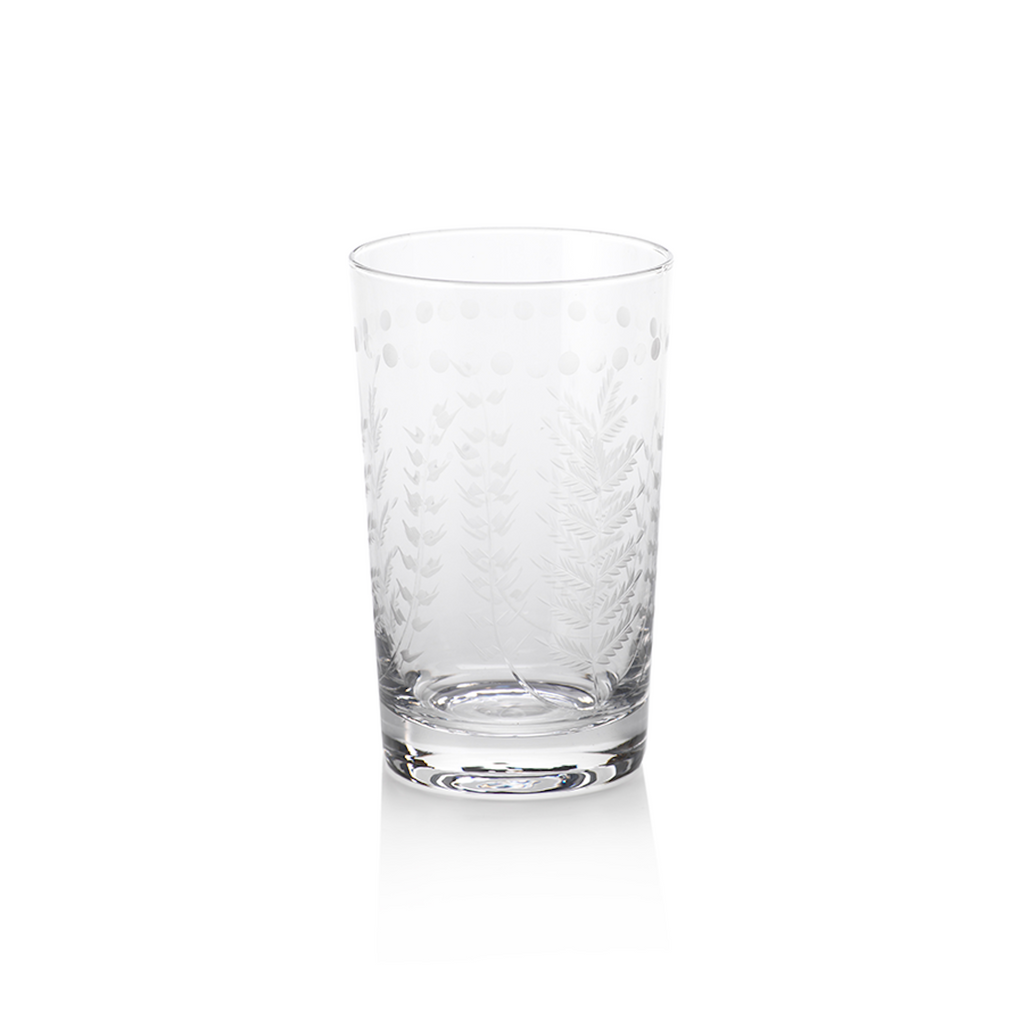 Spring Leaves Highball Glass