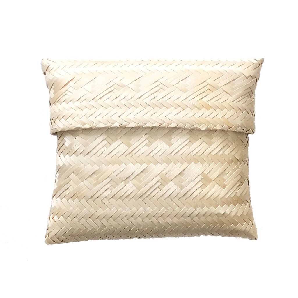 Handwoven Clutch, Natural