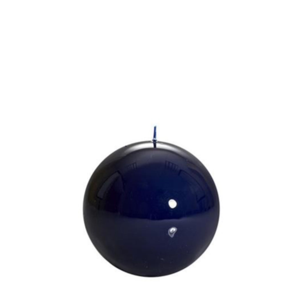 Sphere Candle, Navy