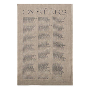 Oyster Tea Towel