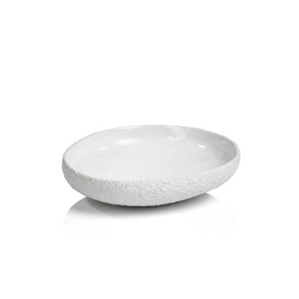White Organic Bowl, Small