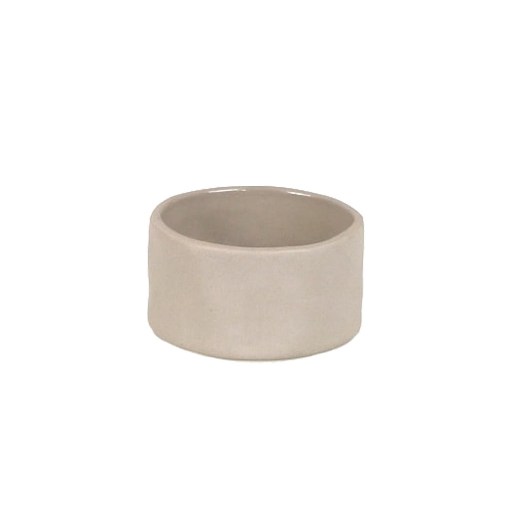 Ceramic Napkin Ring, Sterling