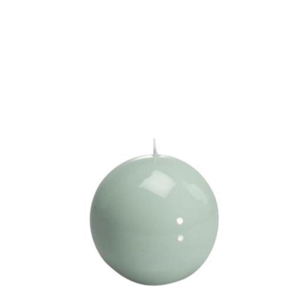 Sphere Candle, Mint