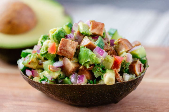 Wild Tuna Tidbit Avocado Salad