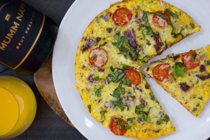 Wild Tuna & Potato Fritatta