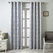 Load image into Gallery viewer, Gyrohomestore Room Darkening Blackout Solid Grommet Single Curtain Panel