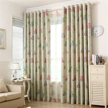 Load image into Gallery viewer, Gyrohomestore Animals Thermal Room Darkening Grommet Blackout Curtains