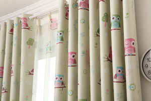 Gyrohomestore Animals Thermal Room Darkening Grommet Blackout Curtains