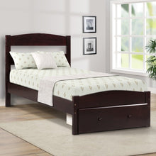 Load image into Gallery viewer, Gyrohomestore Platform Twin Bed Frame with Storage Drawer