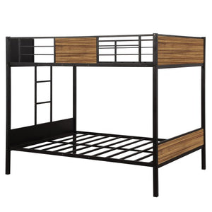 Gyrohomestore Mordern steel frame Full-over-full Bunk Bed