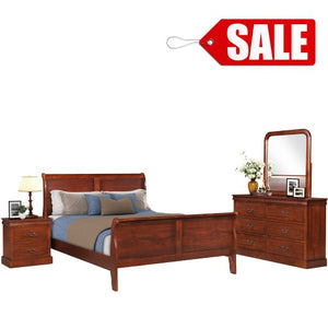 Gyrohomestore Queen Size Wood Bed Frame for Sale