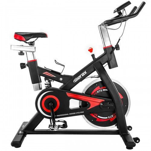 Gyrohomestore High Quality Black and Red Recling Exercise Bike