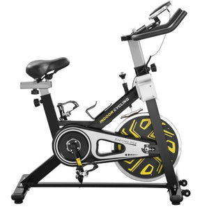Gyrohomestore Indoor Slim Cycle Fitness Trainer Exercise Bike