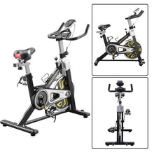 Load image into Gallery viewer, Gyrohomestore Indoor Slim Cycle Fitness Trainer Exercise Bike