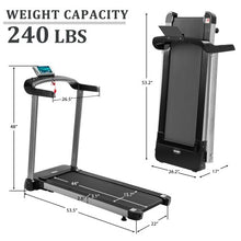 Load image into Gallery viewer, Gyrohomestore Light Commercial Spacing Saving Electric Folding Best Treadmill