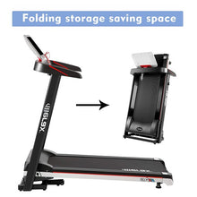 Load image into Gallery viewer, Gyrohomestore Power Motorized Running Machine Treadly Folding Treadmill