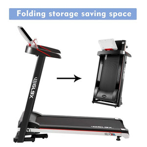 Gyrohomestore Power Motorized Running Machine Treadly Folding Treadmill