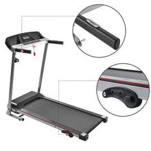 Load image into Gallery viewer, Gyrohomestore Folding Treadmill Electric Motorized Power with LCD Display for Home Fitness