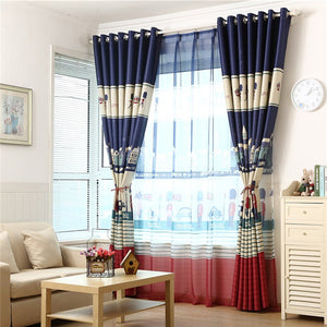 Gyrohomestore Cartoon British Guards Style Grommet Blackout Curtains