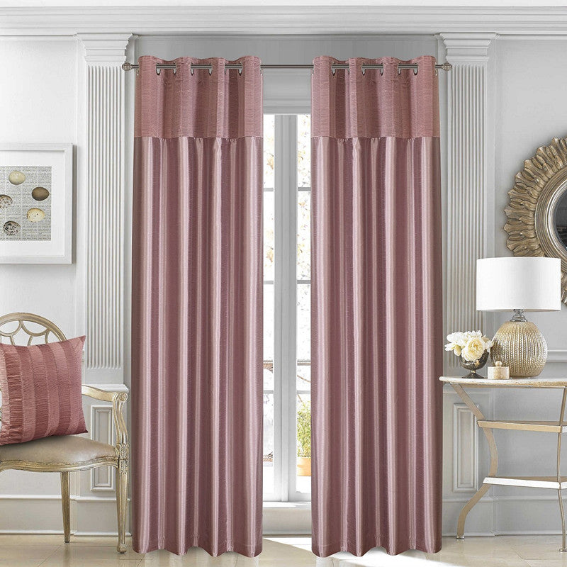 Gyrohomestore Basics Solid Simple Grommet Cheap Blackout Curtains