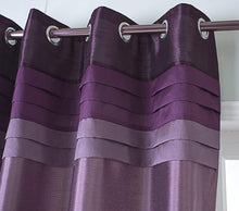 Load image into Gallery viewer, Gyrohomestore Purple Fully Lined Thermal Best Blackout Curtains