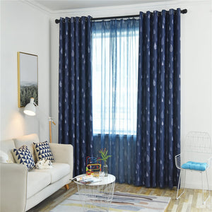 Gyrohomestore Raindrop Style Grommet Blackout Window Curtains
