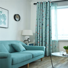 Load image into Gallery viewer, Gyrohomestore Raindrop Style Grommet Blackout Window Curtains