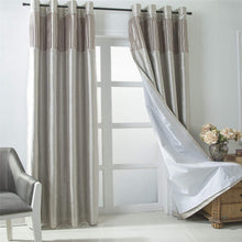 Load image into Gallery viewer, Gyrohomestore Room Darkening Grommet Window Curtains Panels