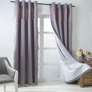 Gyrohomestore Room Darkening Grommet Window Curtains Panels