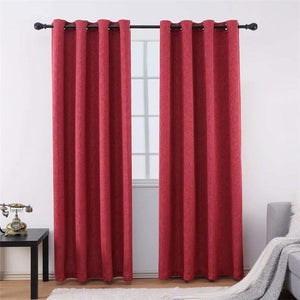 Gyrohomestore Room Darking Max Polyester Blackout Curtains Two Panels