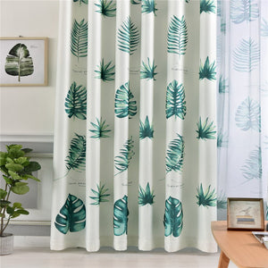 Gyrohomestore Floral Printed Top Thermal Insulated Blackout Curtains Cheap