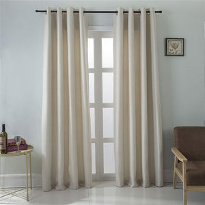 Gyrohomestore Solid Room Noise Reduce Darkening Window Curtains Cheap
