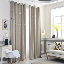 Load image into Gallery viewer, Gyrohomestore Starry Night Style Grommet Top Best Blackout Curtains
