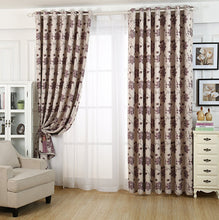 Load image into Gallery viewer, Gyrohomestore Farmhouse Big Flowers Cheap Blackout Curtains