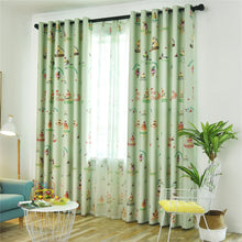 Load image into Gallery viewer, Gyrohomestore Cartoon Ice Cream Print Kids Blackout Curtains Cheap