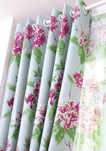 Load image into Gallery viewer, Gyrohomestore Under Energy Efficient Flowers Printed Max Blackout Curtains