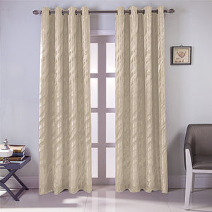 Gyrohomestore Cheap Solid Blackout Thermal Indoor/Outdoor Grommet Curtain